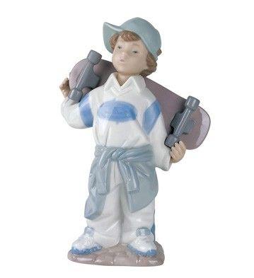 Nao Figurines Little Skateboarder