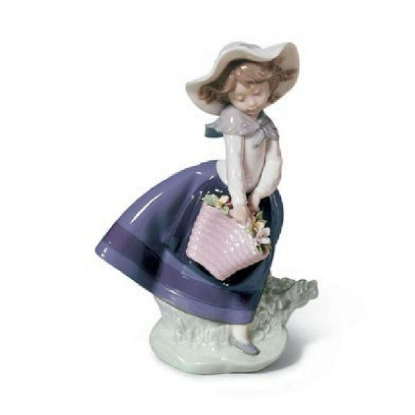 Lladro Figurines Pretty Pickings