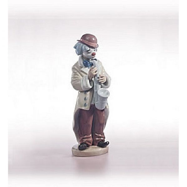 Lladro Figurines Sad Sax