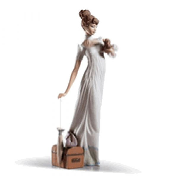 Lladro Figurines Travelling Companions