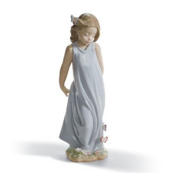 Lladro Figurines Friend of the Butterflies