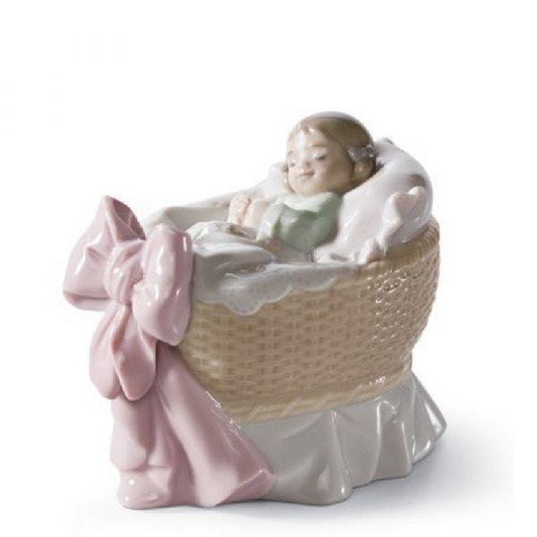 Lladro Figurines A New Treasure (Girl)