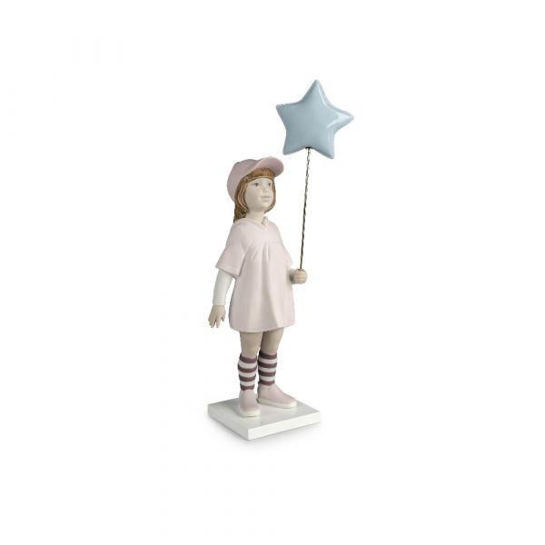 Lladro Follow your Star Girl Figurine (2020 Annual Piece)