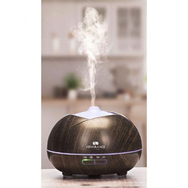 Natural Wellness Dark Wood Grain Aroma Diffuser