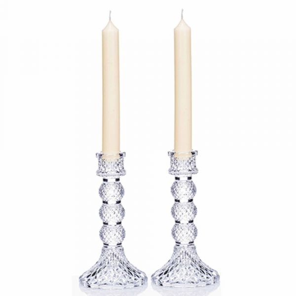 Newgrange Living Candlesticks & Candles (Pair)
