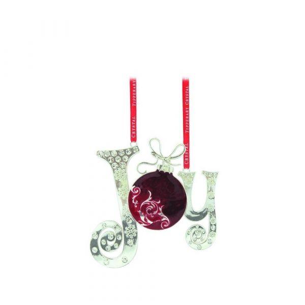 Tipperary Crystal Sparkle Joy Decoration