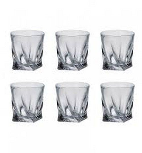 Tipperary Crystal Twist Tumbler Set of  6
