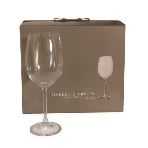Tipperary Crystal Connoisseur Set of 6 Wine 450ml