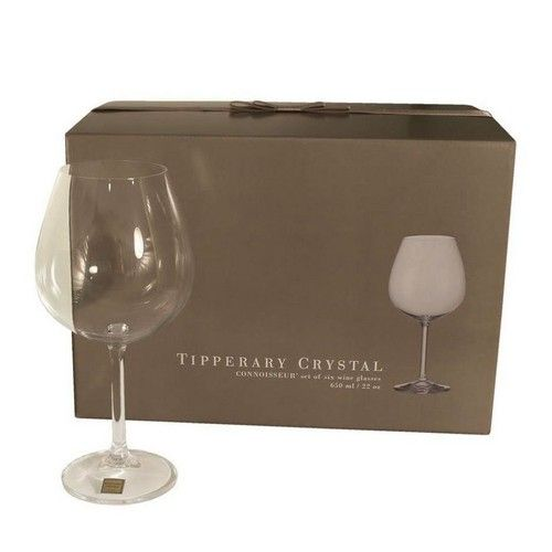 Tipperary Crystal Connoisseur Wine (650ml) Set of 6