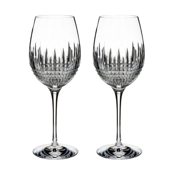 Waterford Crystal Lismore Diamond Essence Goblets (Pair)
