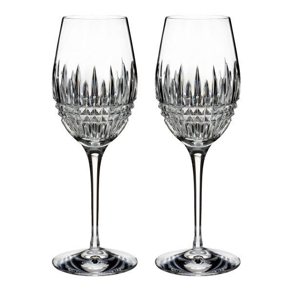 Waterford Crystal Lismore Diamond Essence Wine (Pair)