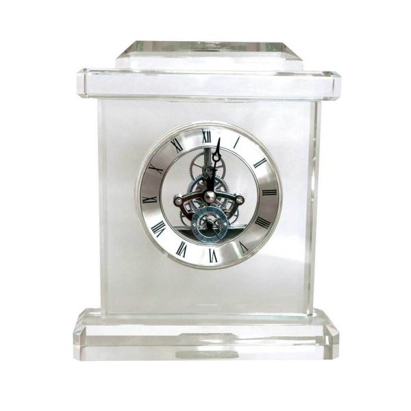Tipperary Crystal Square Carriage Clock