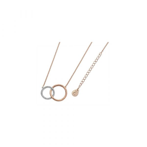 Tipperary Crystal Matte & Pave Circles Pendant