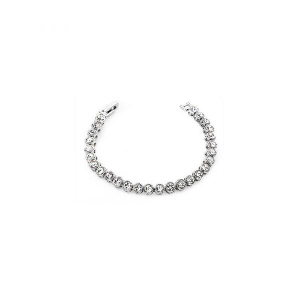 Tipperary Round Tennis Bracelet (Silver)