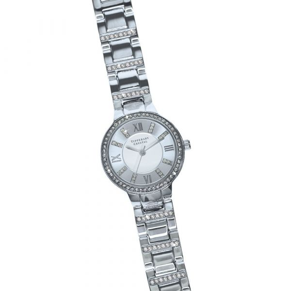 Tipperary Crystal Continuance Watch (Silver)