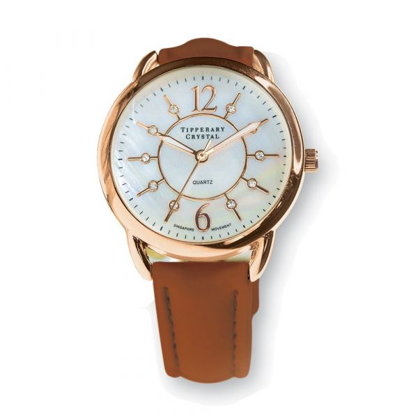 Tipperary Crystal Infinity Watch (Rose Gold)