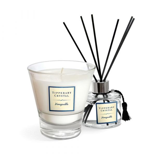 Tipperary Sweet Pea Candle & Diffuser Gift Set