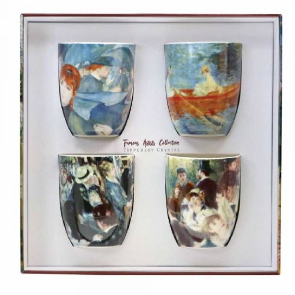 Set 4 Mugs Famous Artists Collection