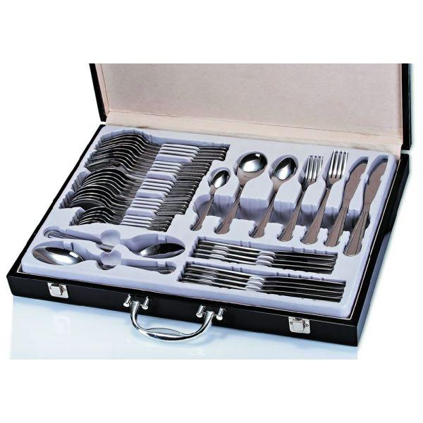 Newgrange Living Adare Stainless Steel 44 Piece Canteen Box Set