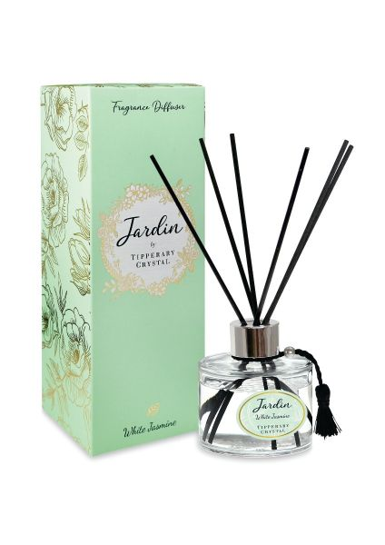 Tipperary Crystal Jardin Collection White Jasmine Diffuser