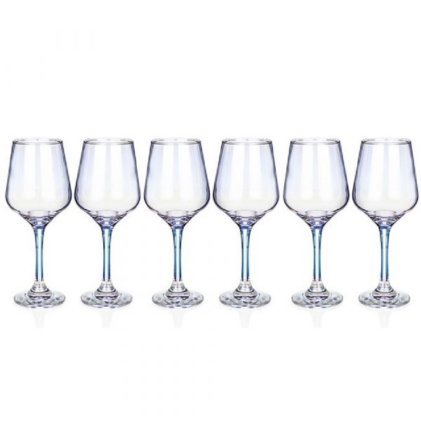 Newgrange Living Unicorn Lustre Party Wine Glasses (Set of  6)