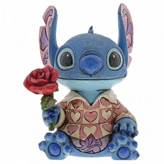 Jim Shore Clueless Casanova (Stitch Figurine)