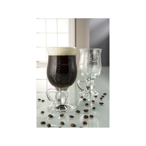 Galway Crystal Irish Coffee Glass Pair