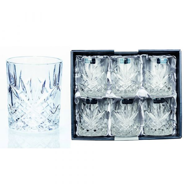Newgrange Living Adare Whiskey Glasses (Set of 6)