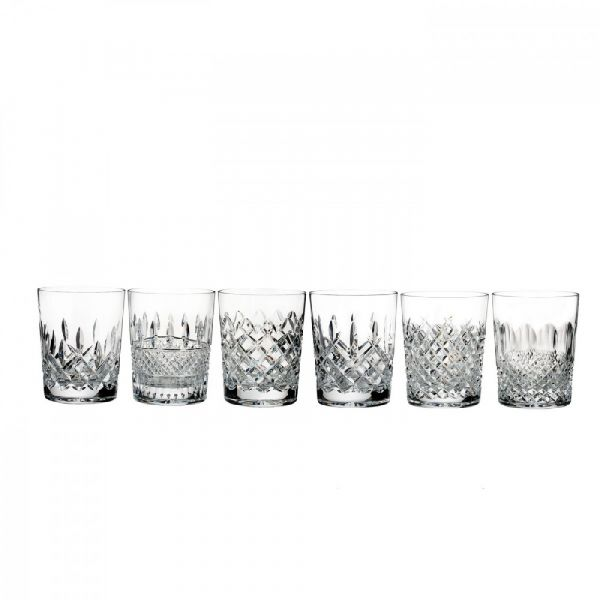 Waterford Crystal Lismore Connoisseur Heritage Double Old Fashioned (S/6)