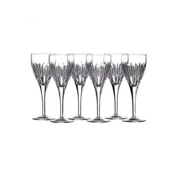 Waterford Crystal Mara Wine Goblets (Set of 6)