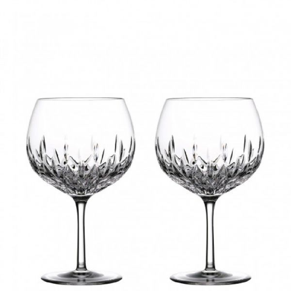 Waterford Crystal Lismore Set of 2 Gin Balloon Glasses