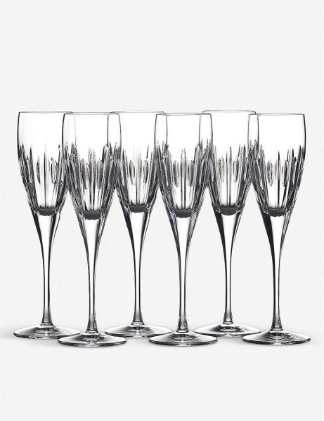 Waterford Crystal Mara Flutes (Set of 6)