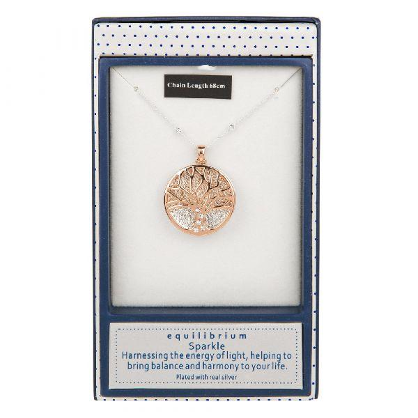 Equilibrium Disc Necklace (Gold)