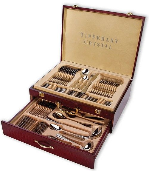 Tipperary Crystal - Elegance 72 Piece Cutlery Canteen
