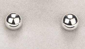 Newgrange Jewellery Round Silver Stud Earrings