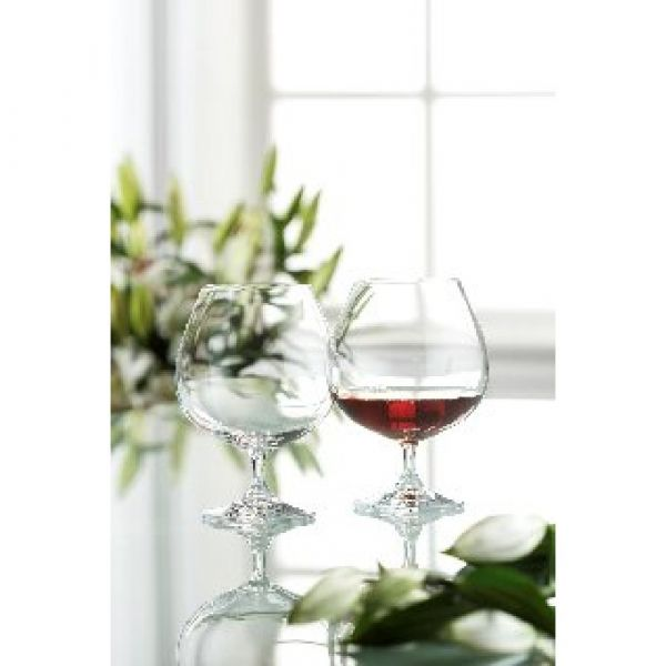 Galway Crystal Clarity Large Brandy Glasses (Pair)