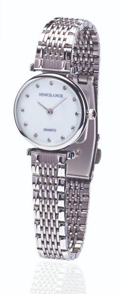 Silver Diamond Numerals Ladies Watch
