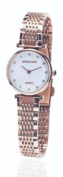 Rose Gold Diamond Numerals Ladies Watch