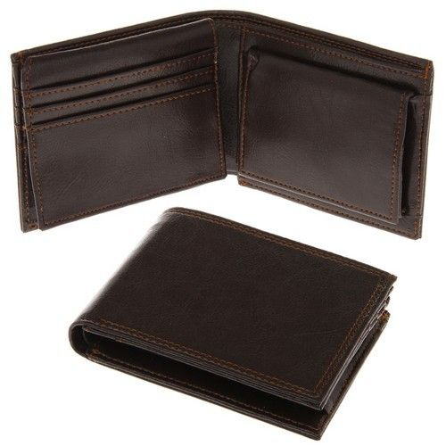 Indulgence Jewellery Gents Brown Leather Wallet
