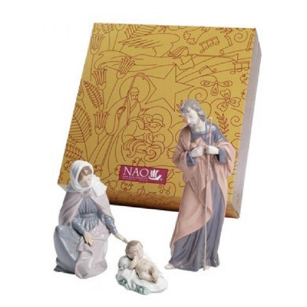 Nao Figurines Nativity Set