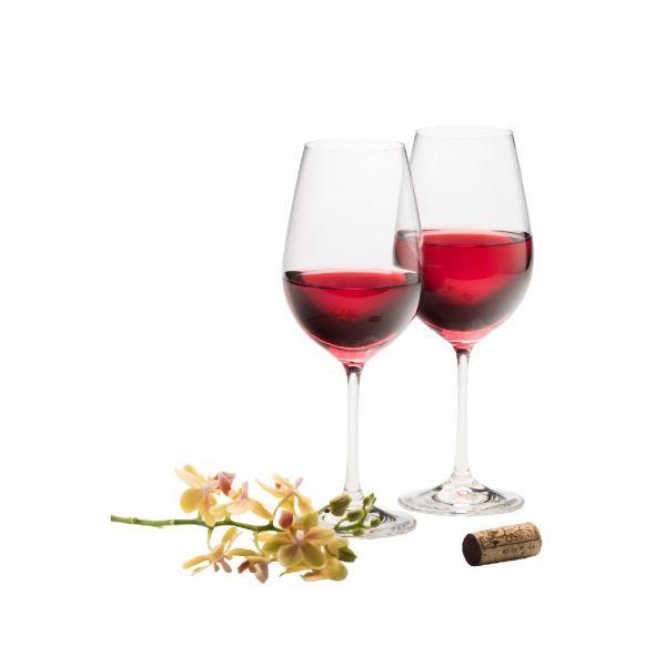 Galway Crystal Pair Wine Goblets 23cm