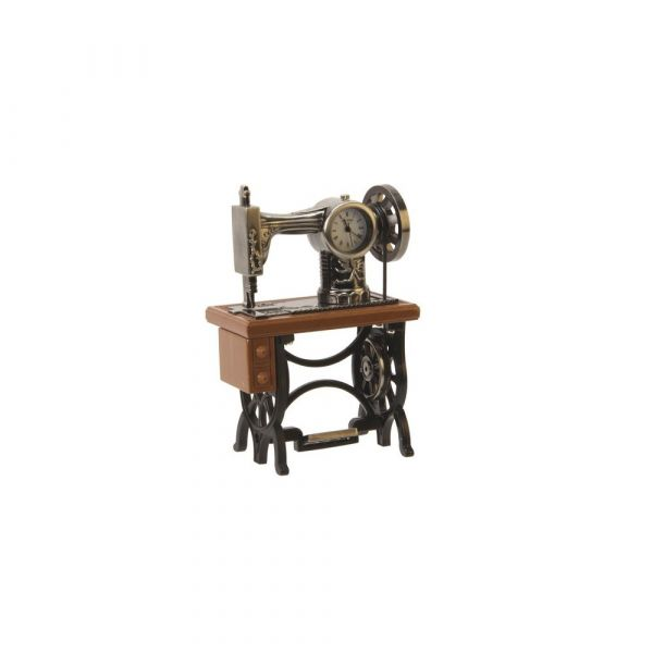 Miniature Clock - Sewing Machine