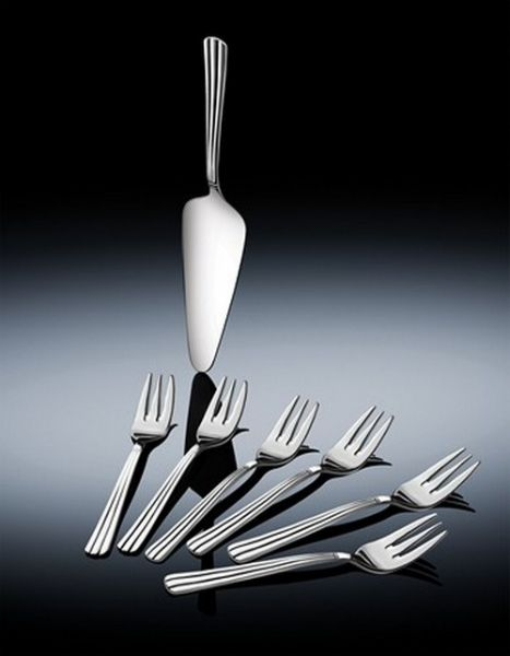 Newbridge Silver Nova Pastry Set Pack x 7