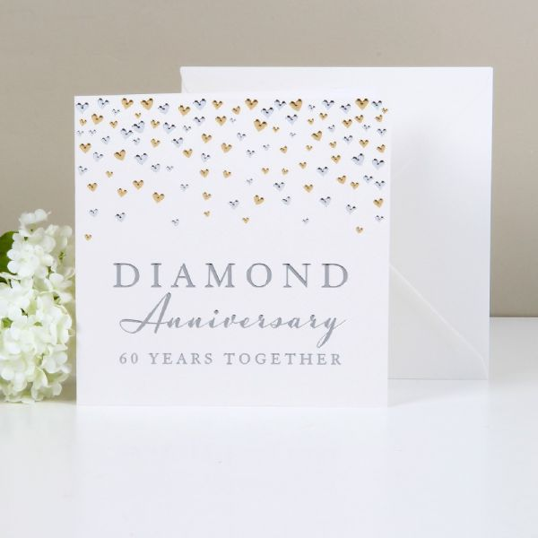 Greeting Cards Diamond Anniversary 60 Years Together
