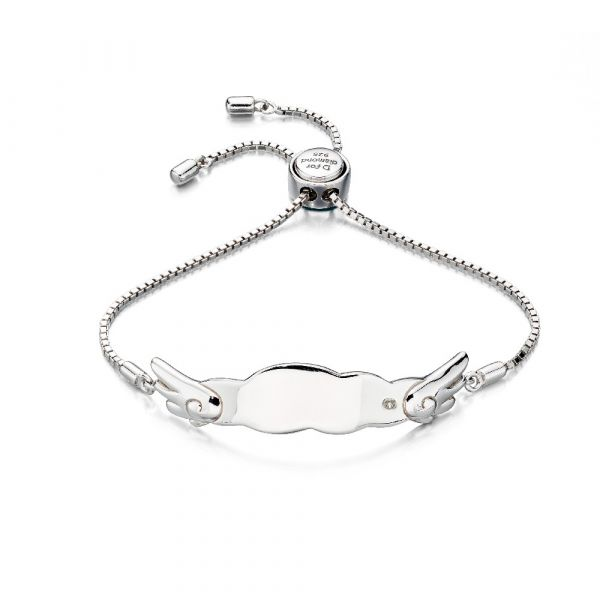 D For Diamond Wing Toggle Bracelet