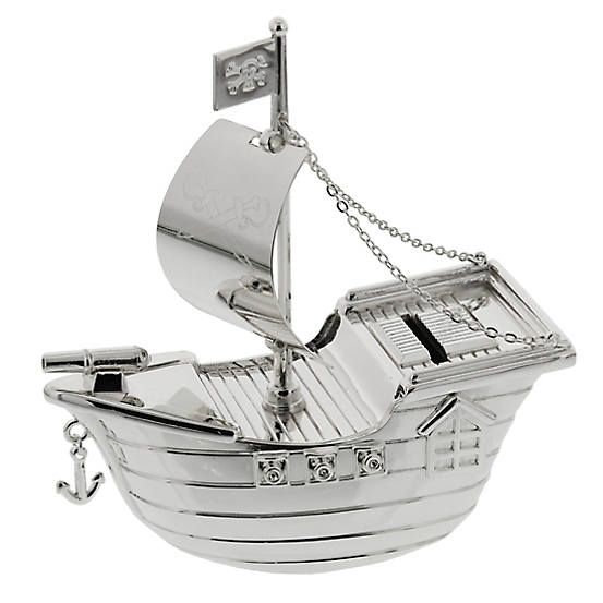 Bambino Pirate Ship Money Box