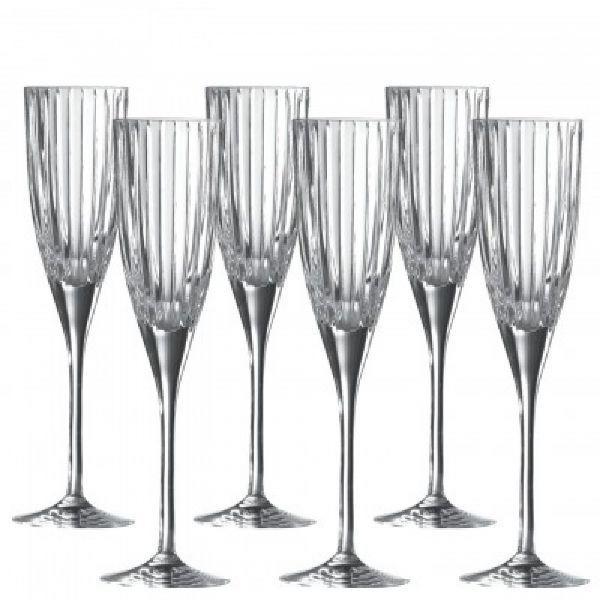 Royal Doulton Linear Champagne Flute (Set of 6)