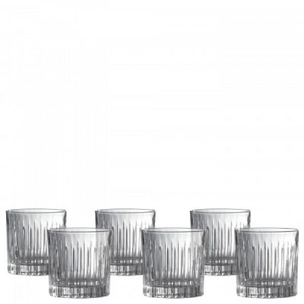 Royal Doulton Linear Double Old Fashioned Tumbler (Set of 6)
