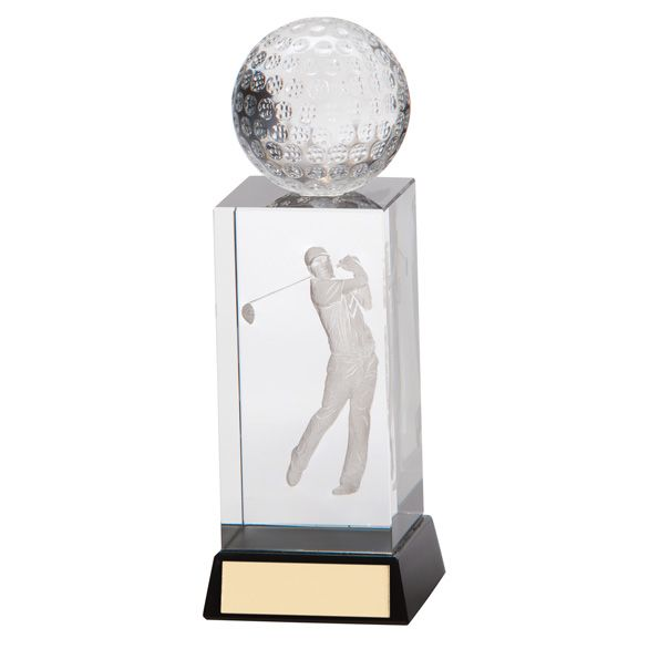 The Crystal Golf Award 130mm