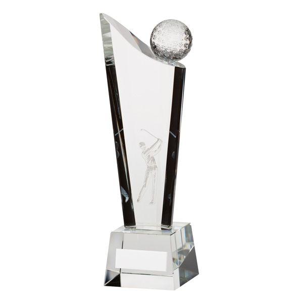 The Crystal Golf Award 205mm